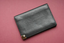 MONTBLANC Business and credit card holder - black genuine leather