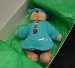 "1996 Pleasant Company Miss Mini AG Bear American Girl 5"" New in Box HTF Original"