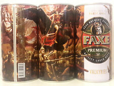 "Faxe Limited ""Norse gods-Valkyries"", empty can Beer,0.9L"