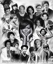 "African American Art ""Great African Americans: Women"" by Wishum Gregory"