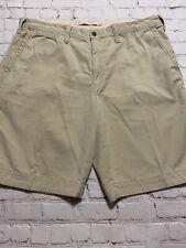 Polo Ralph Lerann relax fit men's shorts size 38 beige color Bermuda style