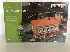 Spur N Faller 231701 Bausatz Polizeihauptwache Neu OVP