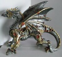 """Steampunk Dragon """"Dracus Machina""""` Small Nemesis Now"""