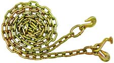 "5/16"" g70 10"" chain 2 Grab & 1 T Hooks 10' flatbed wrecker rollback tow truck"