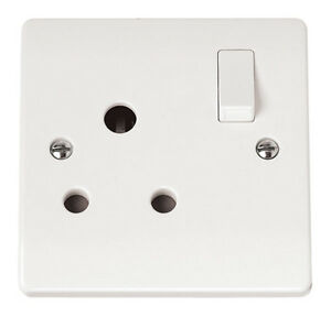 15A Round Pin Socket Outlet | Click CMA034