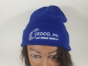 Cedco Inc Las Vegas Nevada Blue Watch Cap Beanie Skull Cap Hat