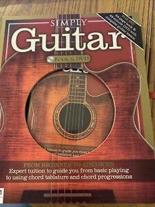 Simply Guitar Book & DVD New