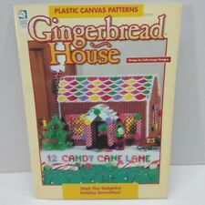 Gingerbread House Plastic Canvas Patterns Christmas Cottage