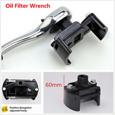 "Auto Tool Oil Filter Wrench Cup 1/2"" Housing Spanner Remover 60-80mm Adjustable"