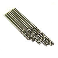 S1028 - 50 Stück Mini Bohrer 0,7 0,8 1,0 1,2 1,4mm Sortiment Set Spiralbohrer