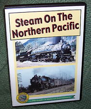 "cp010 TRAIN VIDEO DVD ""STEAM ON NORTHERN PACIFIC"" VINTAGE FILM"