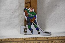 Vintage 1960's Coleco Munro Oakland Tin Tabletop Hockey Game Player red hair