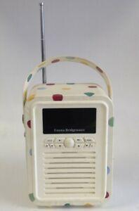 Emma Bridgewater Polka Dot DAB Digital Radio Bluetooth Speaker Retro Mini