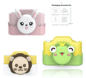 Kids Digital Photo Video 1080P Camera w/  WIFI 32GB Cute Piggy SD Card