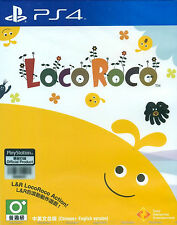 LocoRoco HK Chinese/English subtitle PS4 NEW
