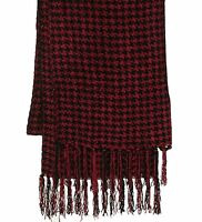 NEW Charter Club Women's Scarf BLACK CHERRY W32P9121ORD