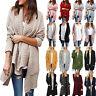 Women Winter Sweater Long Cardigan Coats Knitted Jacket Jumper Outwear Knitwear