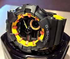 Casio G-SHOCK GA700BY-1A analog hands and multi-dimensional dial