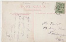 Miss Haslett, 23 Surrey Street, Littlehampton 1906 Postcard, B165