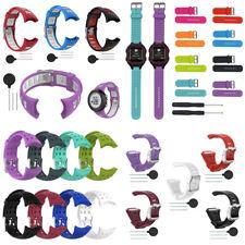 Replacement Silicone Watch Band Bracelet Wristband Strap for POLAR SUUNTO Garmin