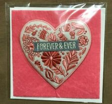 "Greeting Card Wedding ""Forever & Ever""  Hallmark"