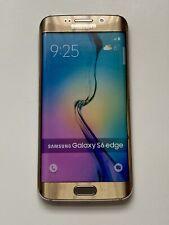 Samsung Galaxy S6 Edge - Dummy Phone - Non-working - Display - Toy - Demo Gold