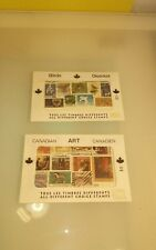 Canadian Stamps mixed envelopes Art & Birds unopened vintage from post office