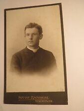 Regensburg - 1904 - Geistlicher mit Brille - Pfarrer ? Priester ? Portrait / CDV
