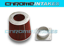 AIR INTAKE FILTER ADAPTER KIT FOR 02 03 04 05 06 07 08 NISSAN MAXIMA RED