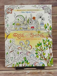 Adult Coloring Book: Majestic Expressions: Rise and Shine