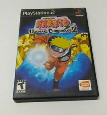 Naruto Uzumaki Chronicles 2 Sony PlayStation 2 PS2 FAST SHIPPING