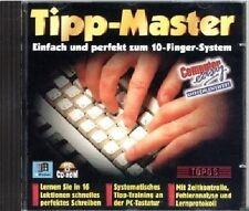 TIPP-MASTER -Perfekt zum 10-Finger-System! Maschinenschreiben Tippkurs Gebraucht