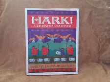 Hark A Christmas Sampler Hardback Book Children Family Stories Songs Poems 1991