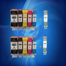 12PK Ink PGI-270XL + CLI-271XL BK/C/Y/M/GY Combo For Canon Pixma MG5720  M6820