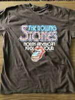 The Rolling Stones North American 1981 Tour T-Shirt Bravado (2009) XL