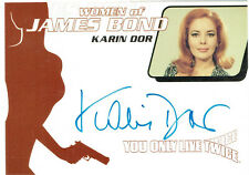 Women of James Bond Autograph Card WA4 Karin Dor as Helga Brandt