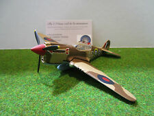 KITTYHAWK MKLA de 1942 marron au 1/72 OXFORD AC024 avion militaire de collection