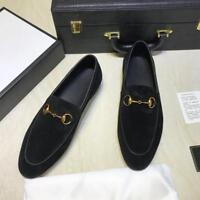 Occident Men Slip On Loafers Suede Leather Casual Business Formal Dress Shoes sz