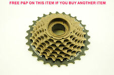 SHIMANO 7 SPEED HG-37 14-28 SUPERIOR FREEWHEEL BLOCK SCREW ON CASSETTE COG RARE