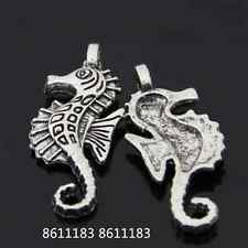 15pc Tibetan Silver Hippocampus Pendant Charms Beads Accessories GP219