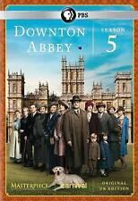 Masterpiece: Downton Abbey - Season 5 (DVD, 2015, 3-Disc Set)