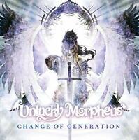 UNLUCKY MORPHEUS Change Of Generation -JAPAN CD New