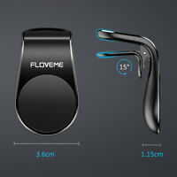 FLOVEME Magnetic In Car Phone Holder Stand Air Vent Mount For iPhone Samsung LG