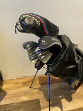 SUPERB SET OF MENS TAYLORMADE GOLF CLUBS