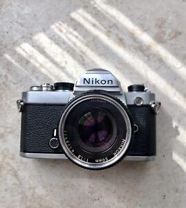 Nikon FM With Nikon 50mm Pancake Lens