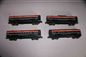 """Williams Electric Trains O Gauge New Haven """"Mayflower"""" 4 Passenger Cars"""
