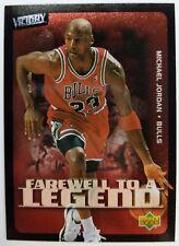 2003 03-04 Upper Deck Victory Farewell To A Legend Michael Jordan #230, Bulls