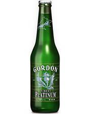 Birra Gordon Finest Platinum 0.33 cl 6 bottiglie 12%