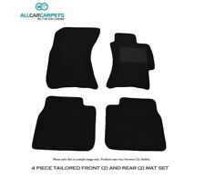 Custom Car Mats Front & Rear 4pc Set To Suit Jaguar XJ Series 1 XJ6,XJ12 1969-73