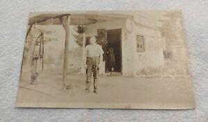 EARLY 1900s RPPC PHOTO POST CARD GAS STATION PORTLAND, OREGON, UNION, ARISTO